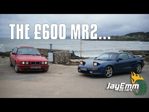 Buying a Toyota MR2 on eBay for £600 and driving it 300 miles home!
