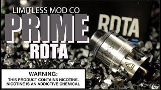 PRIME RDTA By Limitless Mod Company ~Vape RDTA Review~