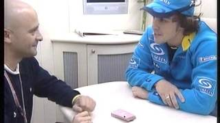 Fernando Alonso: truco magia 2005