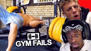 SIDEMEN REACT TO GYM FAILS