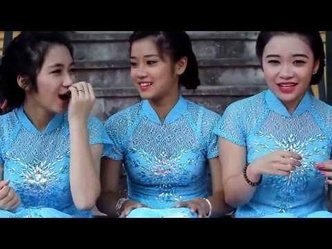 [HD] Ba Hot Girl đáng yêu hát Tình Yêu Màu Nắng