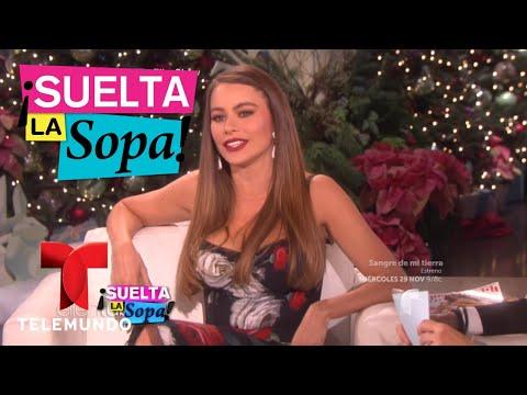 Sofía Vergara en aprietos al hablar inglés | Suelta La Sopa | Entretenimiento