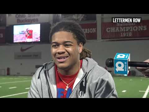 Chase Young: Ohio State lineman talks Urban Meyer's retirement