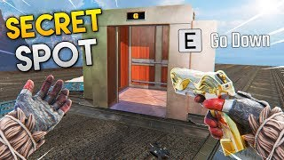 NEW *SECRET* SPOT UNDER AIRBASE!! - Best Apex Legends Funny Moments and Gameplay Ep 190