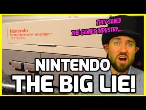 The Big Nintendo Lie! - Saving The Video Game Industry!? - Retro Gaming