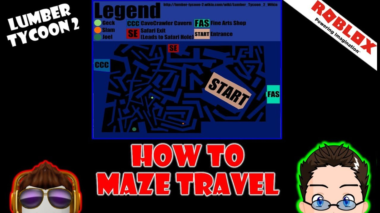 Roblox Lumber Tycoon 2 No Update Yet How To Memorize The Maze