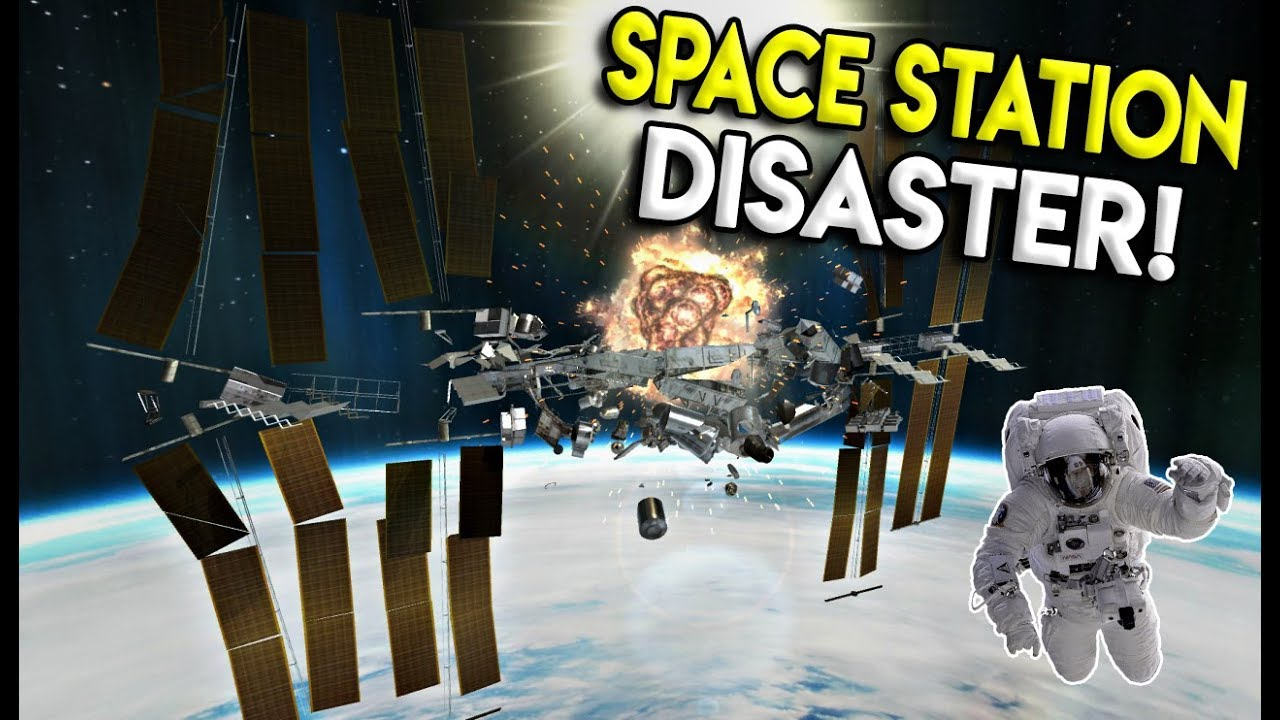 MASSIVE SPACE STATION EXPLOSION! - Disassembly 3D Gameplay ...