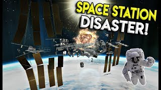 MASSIVE SPACE STATION EXPLOSION -  Disassembly 3D Gameplay - EP 7