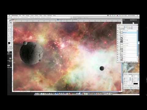 Space Nebula Photoshop Tutorial - Nebula Tutorial Photoshop