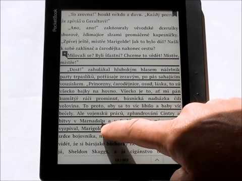 PocketBook Inkpad 840 - videopředstavení ebook čtečky