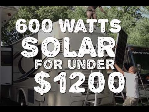 Solar Power - Stop Using Generator for Under $1200?