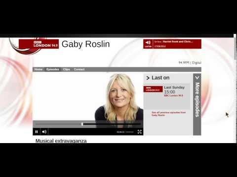 Gaby Roslin show with Shakatak, Sunday 10 August 2014