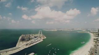 Dubai Marina/Palm Jumeirah Timelapse (gopro hero 5)