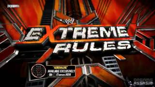 WWE Extreme Rules 2012 Theme Song Adrenaline