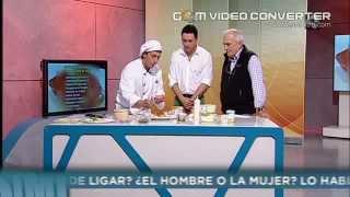 Esparragos de Bureta con Mojama de Atun y Salsa Tartara