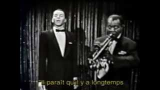 "Louis Armstrong & Frank Sinatra   ""South Gave Birth To The Blues"" 1958"