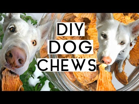 SWEET POTATO DOG CHEWS | Healthy + Easy | 3 Different Ways