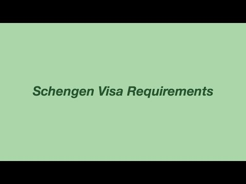 HOW I APPLIED FOR A EUROPEAN VISA (w/my Philippine Passport)