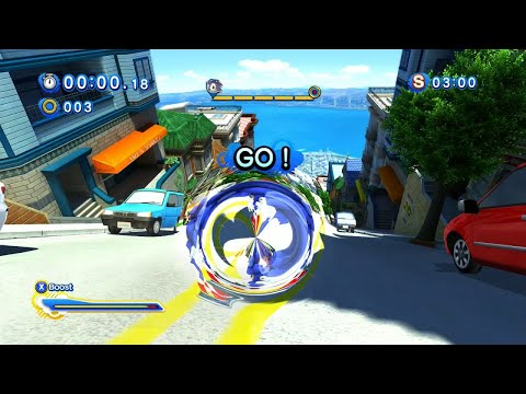 Sonic Generations (PC): All City Escape Modern Challenge Acts (S-Ranks)