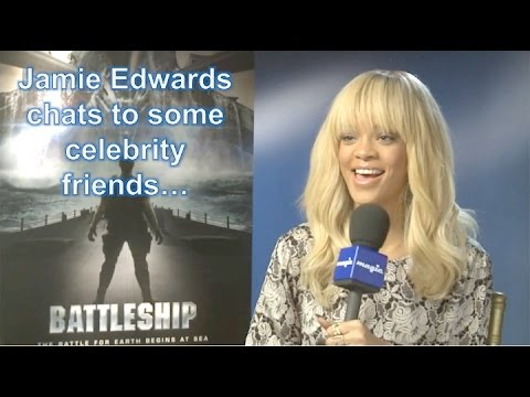 Jamie Edwards' Celeb Chats - Includes an Awkward Bruce Willis & Will Smith's MIB Masterclass