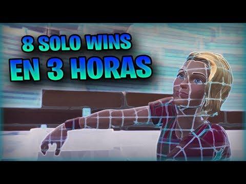 8 Solo Wins en 3 Horas