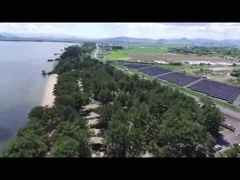 空撮動画  マイアミ浜オートキャンプ場
