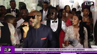 2BABA ADDS GROOVY TOUCH TO ABISOLA AND OLAYINKA AFOLABI'S WEDDING