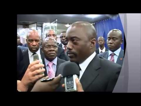 TÉLÉ 24  LIVE:  Interview de Joseph Kabila au siège des Nations Unies à New York.