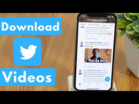 Download Twitter Videos On IPhone Camera Roll (2020) - Download Videos From Twitter 😱