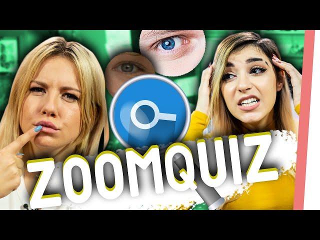 KÖRPERTEILE raten – YOUTUBER im ZOOM Quiz!
