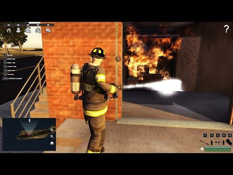 EmergeNYC 0.6 | FDNY Squad 28 Training At The Fire Academy | Garage Fire Tutorial