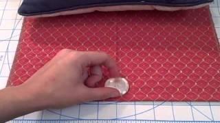 Envelope Style Pillow Sham- Whitney Sews