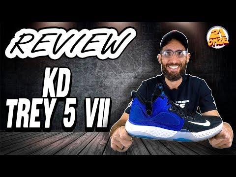 Review Nike KD Trey 5 VII