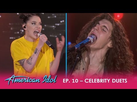 "Cade Foehner & Bishop Briggs ROCK The 'Idol' Stage With ""Never Tear Us Apart""