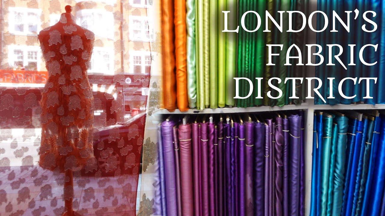 Exploring London's Fabric District. 👀 | Goldhawk Road