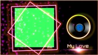 Yeni bir Aşk Şarkısı Remix Avee Player Yeşil Ekran Şablonu razztechnical oluşturmak ll