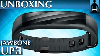 jawbone up3 fitness armband activity tracker   unboxing deutsch