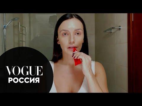 Секреты красоты: Ольга Серябкина показывает, как сделать макияж с акцентом на губы
