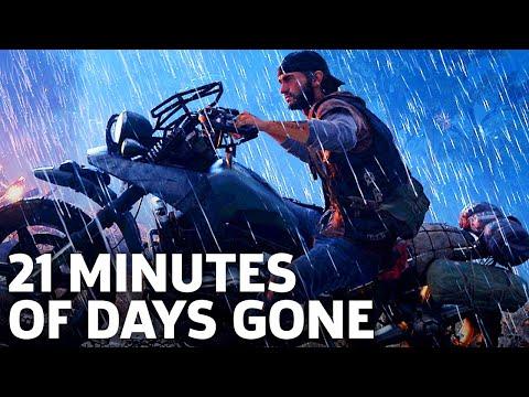 Days Gone Has Desperate Survivors  Gameplay