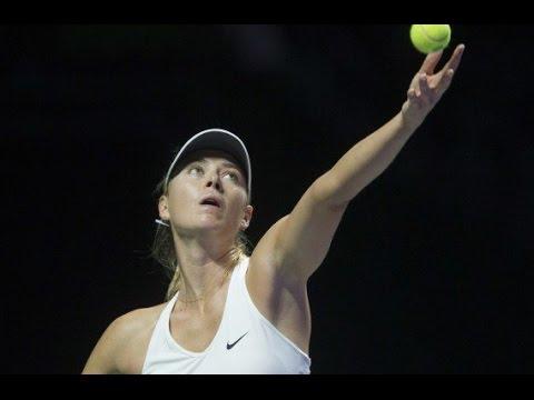Maria Sharapova v Yaroslava Shvedova highlights (2R) - Brisbane International 2015