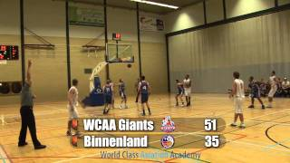Giants U20 vs Binnenland U20