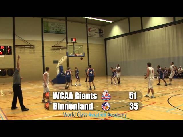 Giants U20 vs Binnenland U20