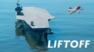 Jumbo R/C Carrier Launches Model Airplanes