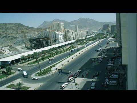 Nice Travel to Mecca City Road by Car    Most Beautiful Road of Makkah, Saudi Arabia