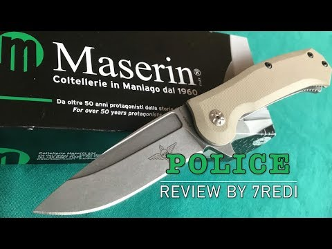 Maserin Police Review - Tough and Rugged Italian!