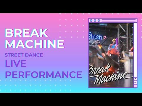 Break Machine performs Street Dance on Nöjesmaskinen