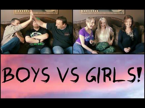 Boys VS Girls CHALLENGE - YouTube