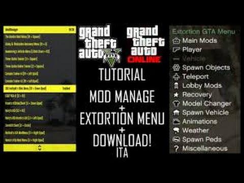 Tuto installer mod menu gta5 1.26 ps3 fr