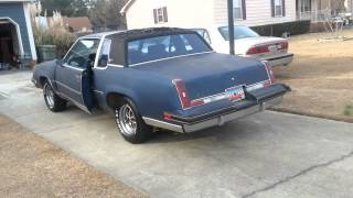 83 Cutlass with 40 series Flowmasters