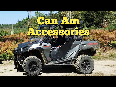 Can-Am Commander Side By Side With Accessories.